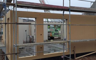 Konstrukce Rigips Diffuwall panelovou technologií